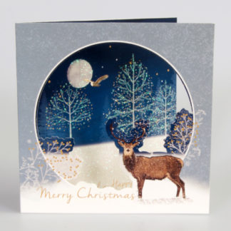Wintery Stag