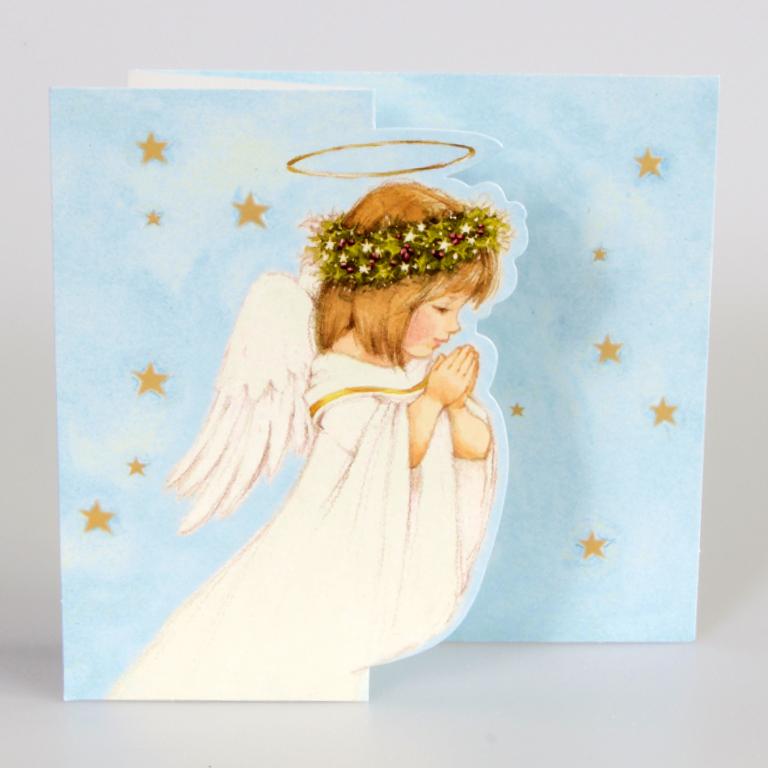 Angels Christmas Cards.Praying Angel Christmas Cards