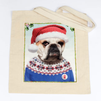 Duchess bulldog tote bag