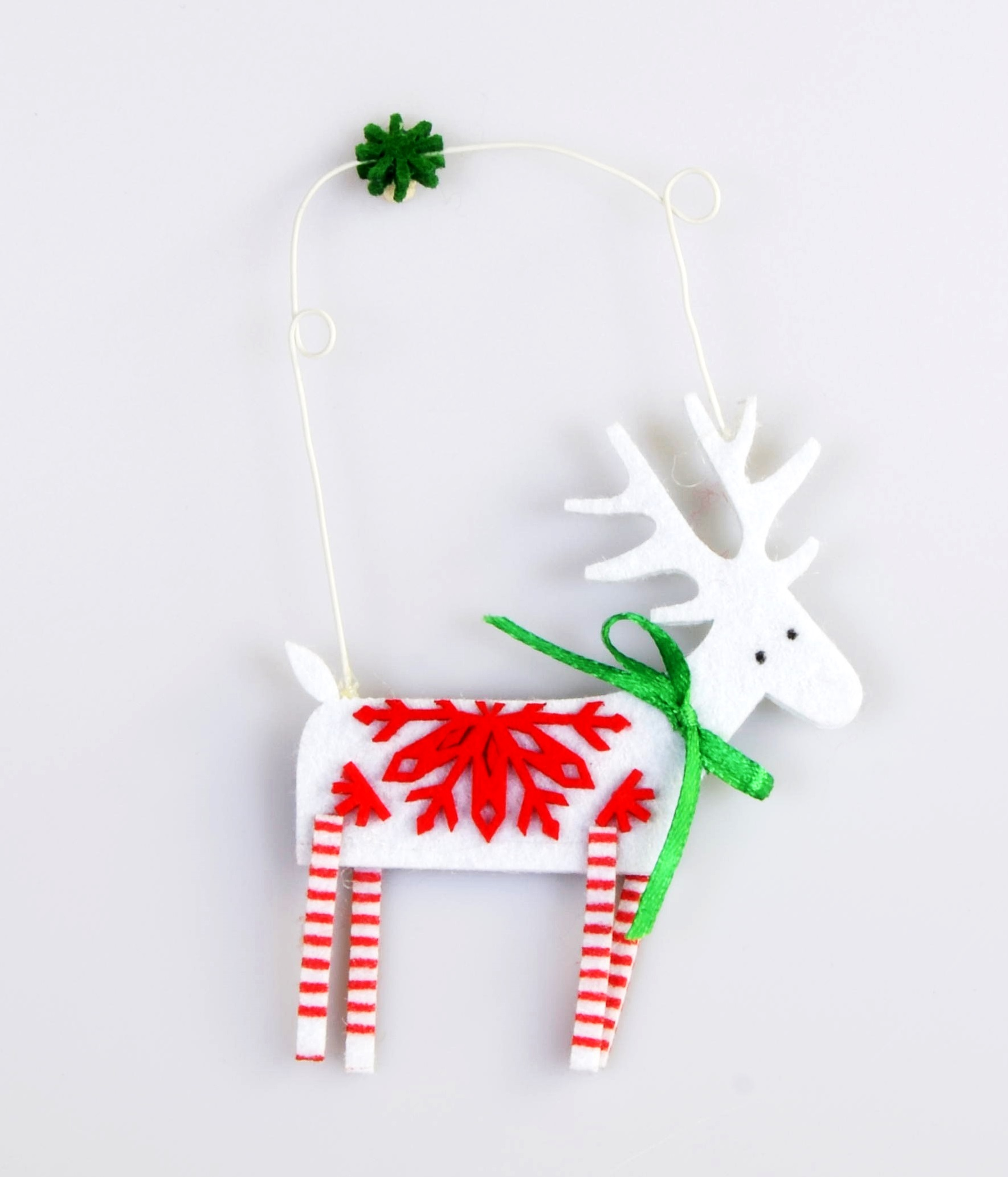 white reindeer decoration 099 christmas tree decoration christmas tree decoration