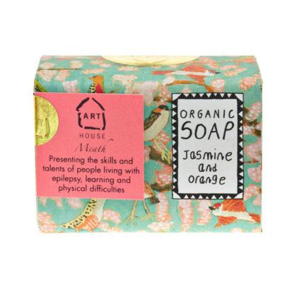 Jasmine & Orange organic Soap