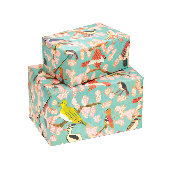 Blooming marvellous wrapping paper