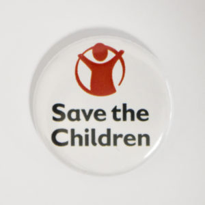 Save the children logo badge