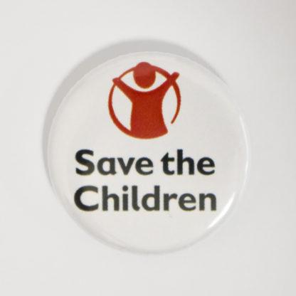 Save the children logo badge
