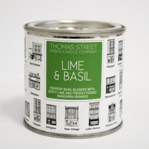 Lime and Basil candle