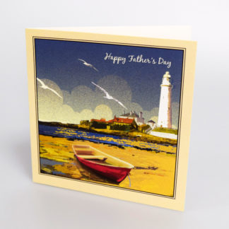 LIGHTHOUSE FATHERS DAY CARD