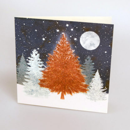 Copper Tree Christmas Cards