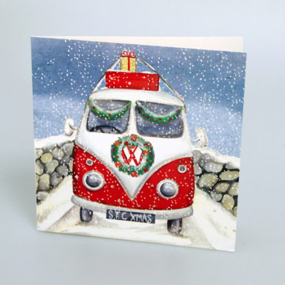Campervan Christmas Cards