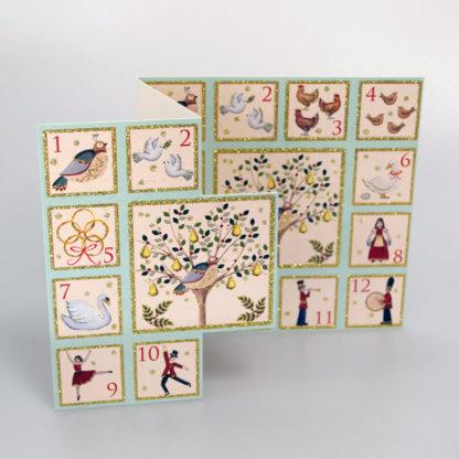 Twelve Days of Christmas Cards