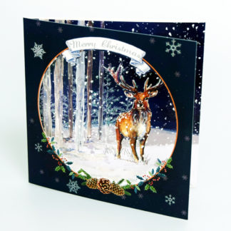 Winter Stag Christmas Cards