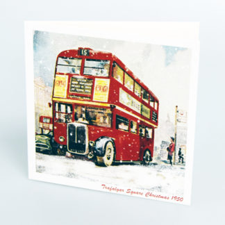 London Bus Christmas Cards