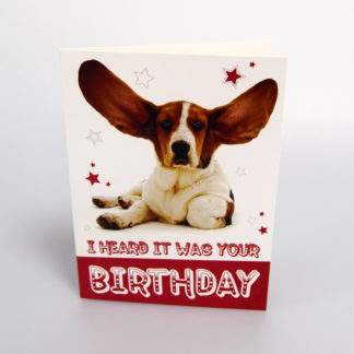 Dumbo Dog Greeting Card