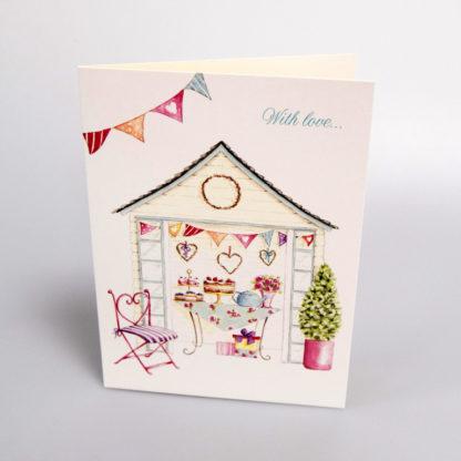 Birthday Afternoon Tea Greeting Card