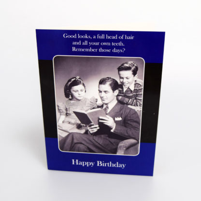 The Old Days Greeting Card