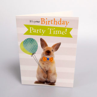 Bunny Party Greeting Card