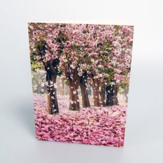 Pink Woodland Greeting Card