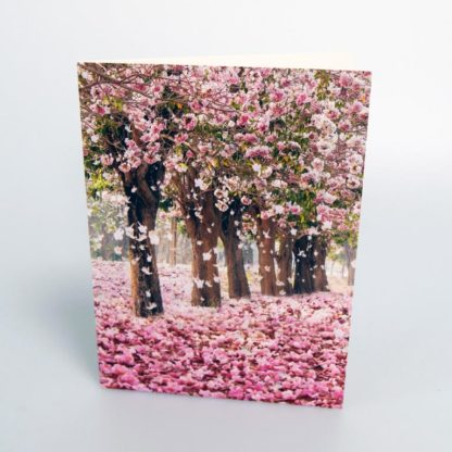 Pink Woodland Greeting Card