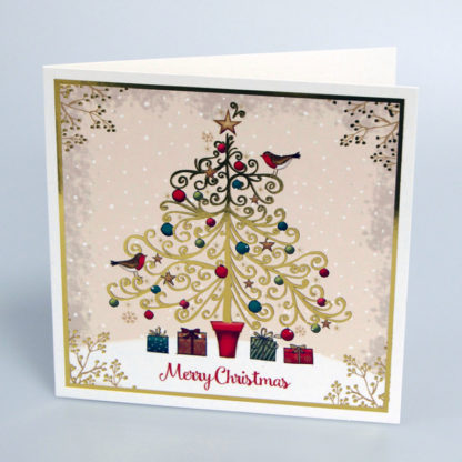 Presents under the Tree Christmas Cards