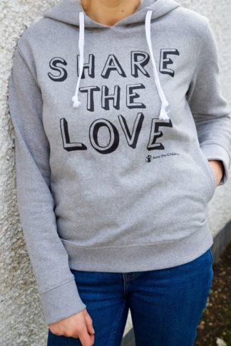 share the love hoodie