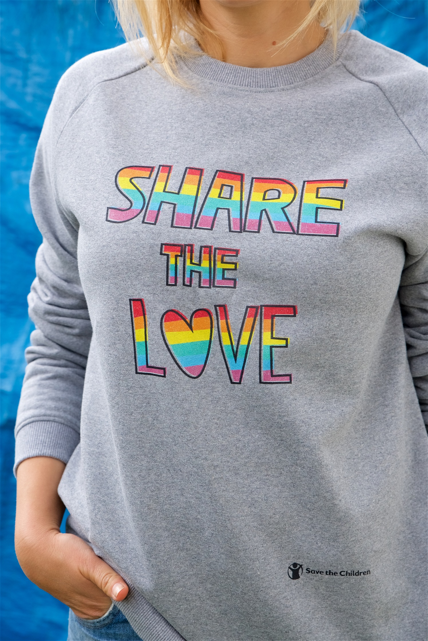 84c17fcb Share The Love Pride Sweatshirt | Save the Children Shop