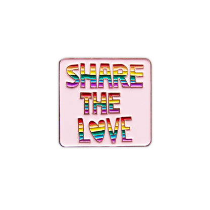Share the love pride badge