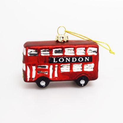 London Bus tree decoration