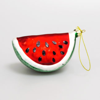 watermelon slice tree decoration