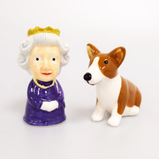 Queen & Corgi Salt and Pepper