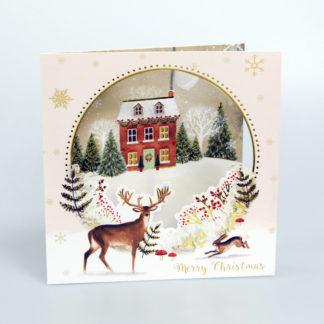Christmas House Christmas Card
