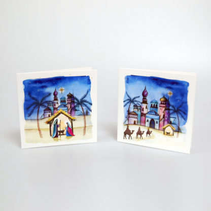 Watercolour Journey Christmas Cards