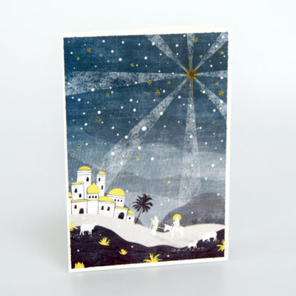 Journey Silhouette Christmas Cards