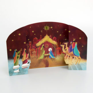 Stable Scene Christmas Cards