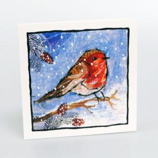 Printed Robin Christmas Cards