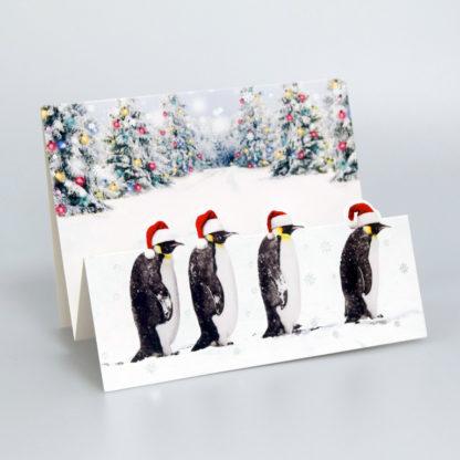 Christmas Penguins Christmas Cards