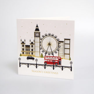 London Scene Christmas Card