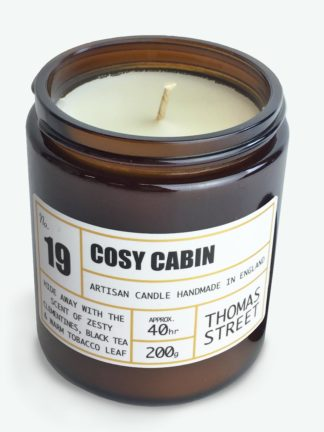 Cosy cabin candle