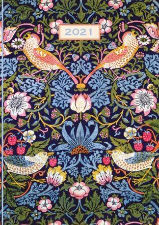 2021 William Morris diary