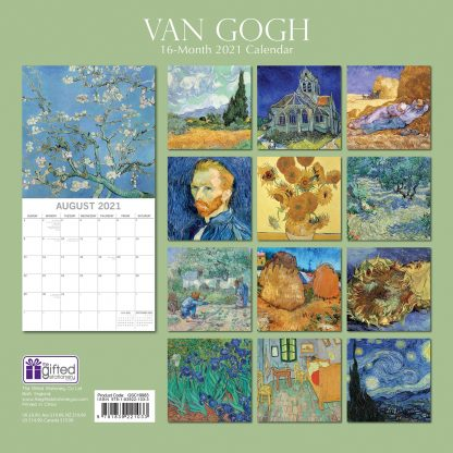 Van Gogh 2021 calendar
