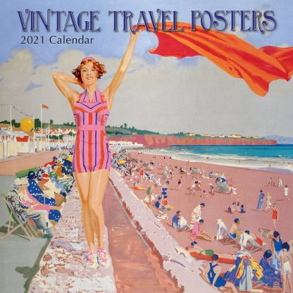 2021 Vintage Travel Calendar