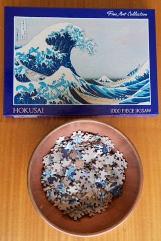 Hokusai Jigsaw Puzzle