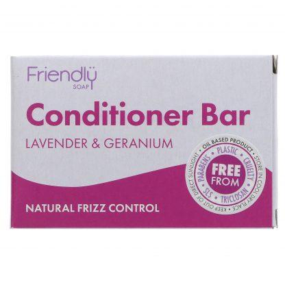 Lavender and geranium conditioner bar
