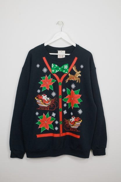 Gingerbread Cardigan Christmas Sweater